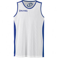 02014-ROYAL-WHITE/ESSENTIAL REVERSIBLE SHIRT/ SPALDING