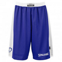 05014- ROYAL-WHITE/ESSENTIAL REVERSIBLE SHORTS /SPALDING