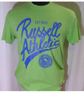 A4-021-1/243-VQ  CREW NECK S/S TEE/ RUSSELL
