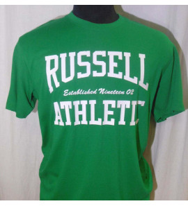 A4-010-1/297-G4   CREW NECK S/S TEE/RUSSELL